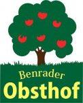 Benrader Obsthof Apfel Himbeer Hofladen Logo