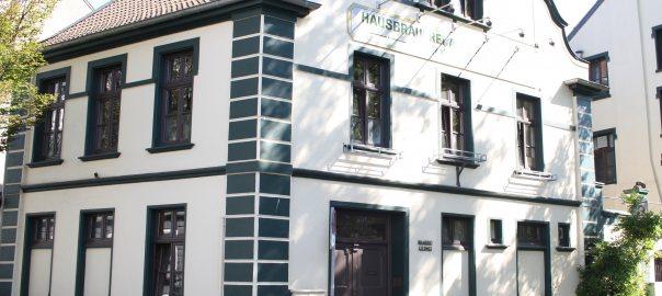 Gleumes Bier Krefeld Brauerei aussen