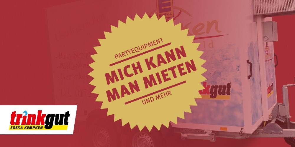 Partyequipment mieten Krefeld