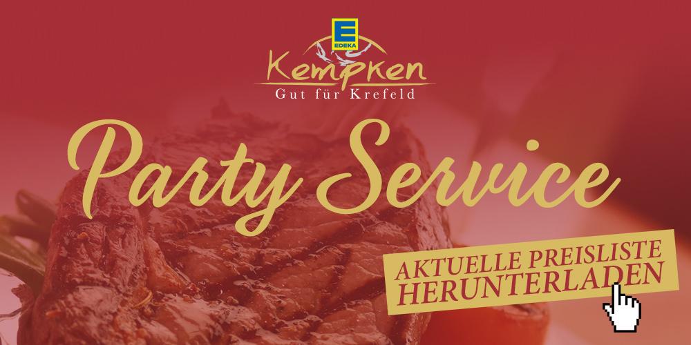 Edeka Kempken Partyservice Krefeld
