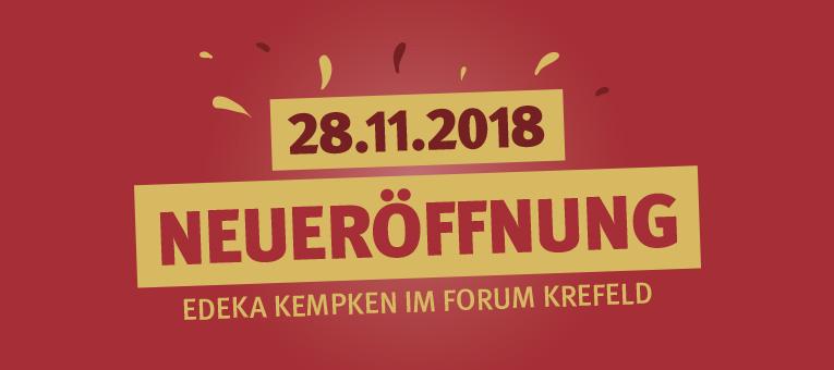 Neueröffnung am 28.11.2018 - Forum Krefeld