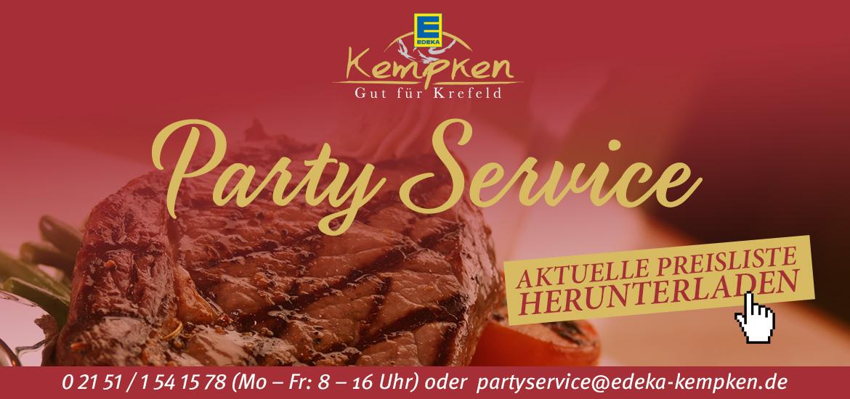 Edeka Kempken Partyservice in Krefeld