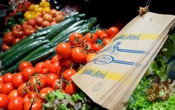 Papiertüten für Obst und Gemüse