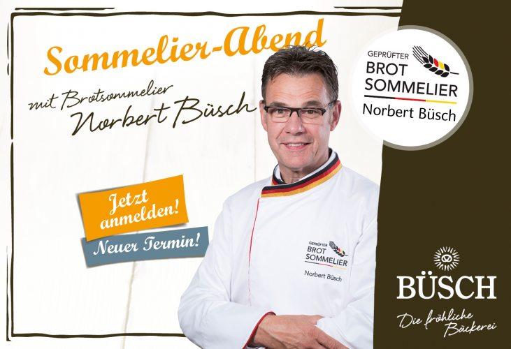Brotsommelier-Abend mit Norbert Büsch bei Edeka Kempken